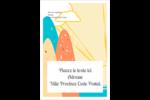Surfeur rétro Étiquettes D'Adresse - gabarit prédéfini. <br/>Utilisez notre logiciel Avery Design & Print Online pour personnaliser facilement la conception.