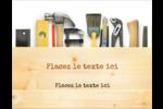 Menuiserie  Carte Postale - gabarit prédéfini. <br/>Utilisez notre logiciel Avery Design & Print Online pour personnaliser facilement la conception.