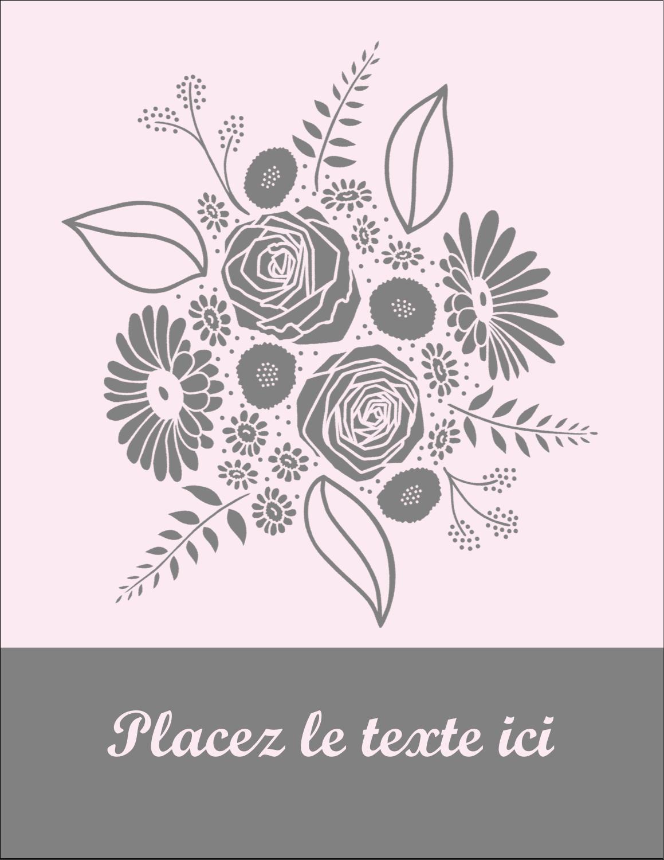 """5½"""" x 4¼"""" Carte Postale - Bouquet de fleurs"""