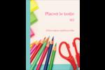 Enseignement primaire Carte Postale - gabarit prédéfini. <br/>Utilisez notre logiciel Avery Design & Print Online pour personnaliser facilement la conception.