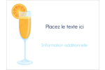 Mimosa Badges - gabarit prédéfini. <br/>Utilisez notre logiciel Avery Design & Print Online pour personnaliser facilement la conception.