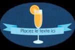 Mimosa Étiquettes carrées - gabarit prédéfini. <br/>Utilisez notre logiciel Avery Design & Print Online pour personnaliser facilement la conception.