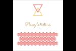 Triangles modernes pour typographie Étiquettes rondes - gabarit prédéfini. <br/>Utilisez notre logiciel Avery Design & Print Online pour personnaliser facilement la conception.