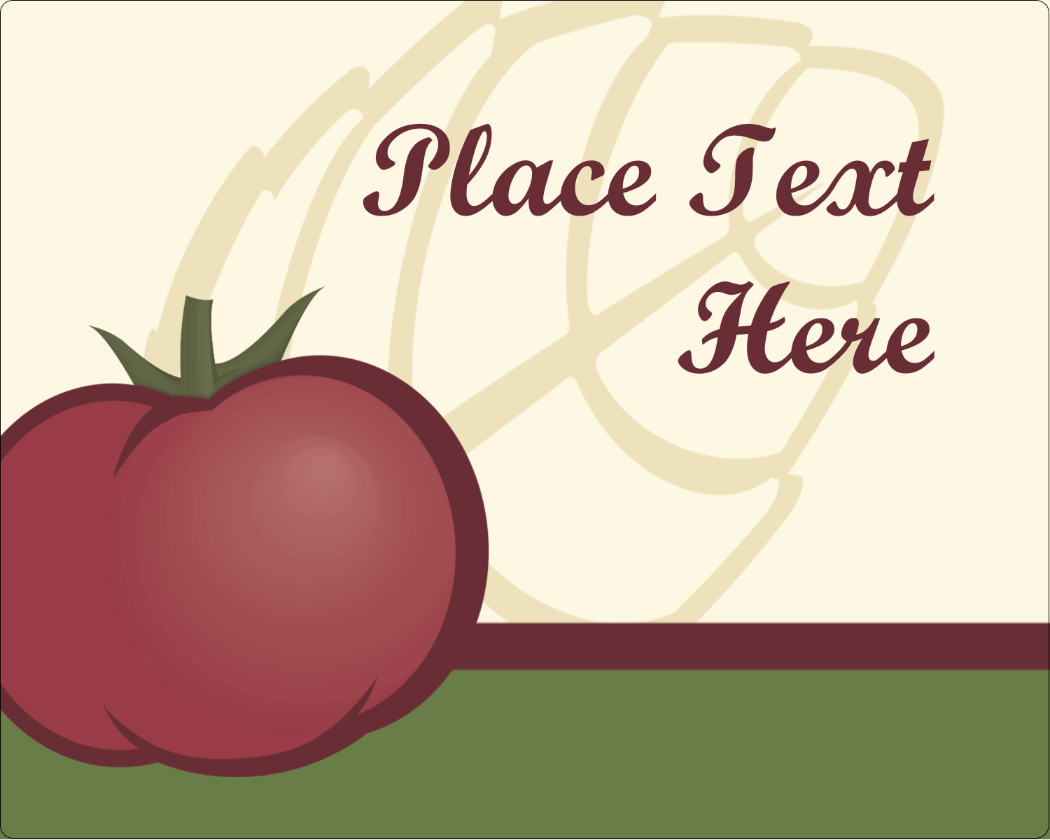 Add a sense of bounty to projects with customizable pre-designed Italian Tomato templates.