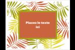 Palmes ensoleillées Cartes Et Articles D'Artisanat Imprimables - gabarit prédéfini. <br/>Utilisez notre logiciel Avery Design & Print Online pour personnaliser facilement la conception.