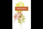 Palmes ensoleillées Reliures - gabarit prédéfini. <br/>Utilisez notre logiciel Avery Design & Print Online pour personnaliser facilement la conception.