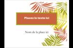 Palmes ensoleillées Badges - gabarit prédéfini. <br/>Utilisez notre logiciel Avery Design & Print Online pour personnaliser facilement la conception.