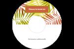 Palmes ensoleillées Étiquettes de classement - gabarit prédéfini. <br/>Utilisez notre logiciel Avery Design & Print Online pour personnaliser facilement la conception.