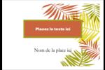 Palmes ensoleillées Étiquettes à codage couleur - gabarit prédéfini. <br/>Utilisez notre logiciel Avery Design & Print Online pour personnaliser facilement la conception.