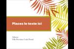 Palmes ensoleillées Étiquettes rondes gaufrées - gabarit prédéfini. <br/>Utilisez notre logiciel Avery Design & Print Online pour personnaliser facilement la conception.