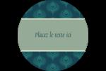 Plume de paon Étiquettes de classement - gabarit prédéfini. <br/>Utilisez notre logiciel Avery Design & Print Online pour personnaliser facilement la conception.