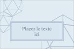 Sphères modernes pour typographie Étiquettes rectangulaires - gabarit prédéfini. <br/>Utilisez notre logiciel Avery Design & Print Online pour personnaliser facilement la conception.