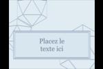 Sphères modernes pour typographie Étiquettes rondes gaufrées - gabarit prédéfini. <br/>Utilisez notre logiciel Avery Design & Print Online pour personnaliser facilement la conception.