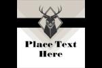 Choose pre-designed Letterpress Masculine Buck templates for your next custom project.