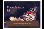 Papillon perché Badges - gabarit prédéfini. <br/>Utilisez notre logiciel Avery Design & Print Online pour personnaliser facilement la conception.
