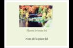 Maison du lac Badges - gabarit prédéfini. <br/>Utilisez notre logiciel Avery Design & Print Online pour personnaliser facilement la conception.