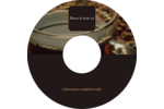 Tasse de café Étiquettes de classement - gabarit prédéfini. <br/>Utilisez notre logiciel Avery Design & Print Online pour personnaliser facilement la conception.
