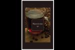 Tasse de café Reliures - gabarit prédéfini. <br/>Utilisez notre logiciel Avery Design & Print Online pour personnaliser facilement la conception.