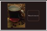 Tasse de café Cartes Et Articles D'Artisanat Imprimables - gabarit prédéfini. <br/>Utilisez notre logiciel Avery Design & Print Online pour personnaliser facilement la conception.