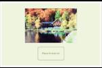 Maison du lac Cartes Et Articles D'Artisanat Imprimables - gabarit prédéfini. <br/>Utilisez notre logiciel Avery Design & Print Online pour personnaliser facilement la conception.
