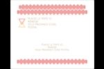 Triangles modernes pour typographie Étiquettes d'expédition - gabarit prédéfini. <br/>Utilisez notre logiciel Avery Design & Print Online pour personnaliser facilement la conception.