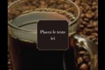Tasse de café Carte Postale - gabarit prédéfini. <br/>Utilisez notre logiciel Avery Design & Print Online pour personnaliser facilement la conception.