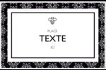 Abeille butineuse Cartes de souhaits pliées en deux - gabarit prédéfini. <br/>Utilisez notre logiciel Avery Design & Print Online pour personnaliser facilement la conception.