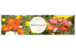 Prairie fleurie Affichette - gabarit prédéfini. <br/>Utilisez notre logiciel Avery Design & Print Online pour personnaliser facilement la conception.