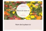Prairie fleurie Badges - gabarit prédéfini. <br/>Utilisez notre logiciel Avery Design & Print Online pour personnaliser facilement la conception.