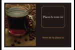 Tasse de café Étiquettes à codage couleur - gabarit prédéfini. <br/>Utilisez notre logiciel Avery Design & Print Online pour personnaliser facilement la conception.