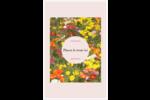 Prairie fleurie Reliures - gabarit prédéfini. <br/>Utilisez notre logiciel Avery Design & Print Online pour personnaliser facilement la conception.