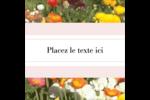 Prairie fleurie Étiquettes enveloppantes - gabarit prédéfini. <br/>Utilisez notre logiciel Avery Design & Print Online pour personnaliser facilement la conception.