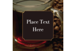 Pour full-bodied flavor into custom projects with pre-designed Cup of Coffee templates.