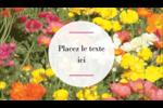 Prairie fleurie Carte d'affaire - gabarit prédéfini. <br/>Utilisez notre logiciel Avery Design & Print Online pour personnaliser facilement la conception.