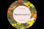 Prairie fleurie Étiquettes de classement - gabarit prédéfini. <br/>Utilisez notre logiciel Avery Design & Print Online pour personnaliser facilement la conception.