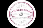 Confiture de framboises à l'ancienne Étiquettes de classement - gabarit prédéfini. <br/>Utilisez notre logiciel Avery Design & Print Online pour personnaliser facilement la conception.