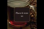 Tasse de café Étiquettes enveloppantes - gabarit prédéfini. <br/>Utilisez notre logiciel Avery Design & Print Online pour personnaliser facilement la conception.