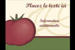 Tomate italienne Carte Postale - gabarit prédéfini. <br/>Utilisez notre logiciel Avery Design & Print Online pour personnaliser facilement la conception.