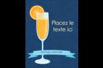 Mimosa Carte Postale - gabarit prédéfini. <br/>Utilisez notre logiciel Avery Design & Print Online pour personnaliser facilement la conception.