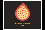 Pizza ardente Cartes Et Articles D'Artisanat Imprimables - gabarit prédéfini. <br/>Utilisez notre logiciel Avery Design & Print Online pour personnaliser facilement la conception.