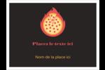 Pizza ardente Badges - gabarit prédéfini. <br/>Utilisez notre logiciel Avery Design & Print Online pour personnaliser facilement la conception.