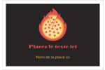 Pizza ardente Étiquettes à codage couleur - gabarit prédéfini. <br/>Utilisez notre logiciel Avery Design & Print Online pour personnaliser facilement la conception.