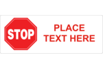 Your project will send a clear message with pre-designed Do Not Operate Stop templates.