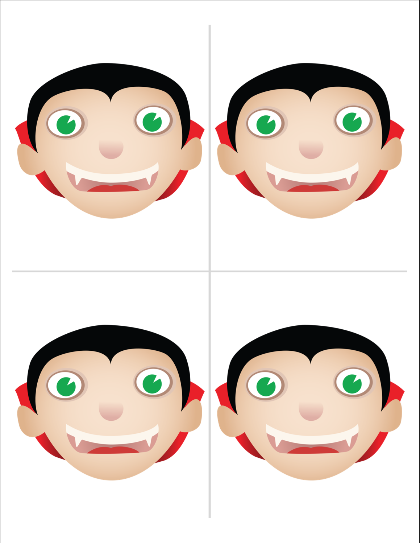 "8½"" x 11"" Magnet Sheets - Dracula"