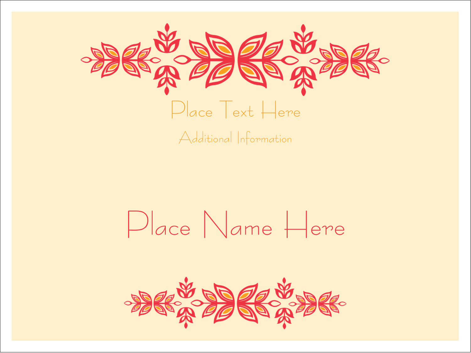 Delight clients and friends with projects using pre-designed Sprig of Summer templates.