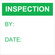 Inspection Record - Green