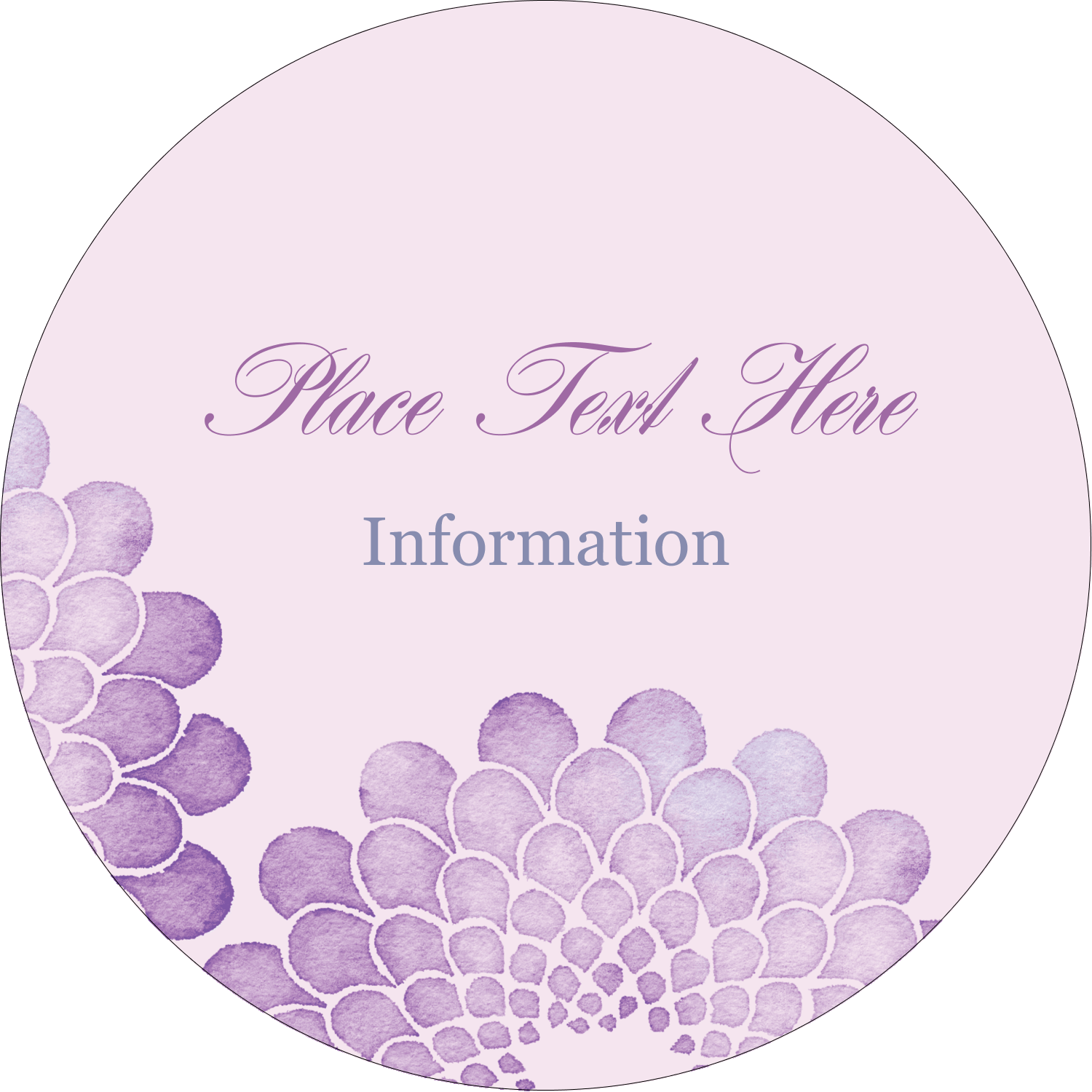 For beautiful projects, choose customizable, pre-designed Watercolour Petals templates.