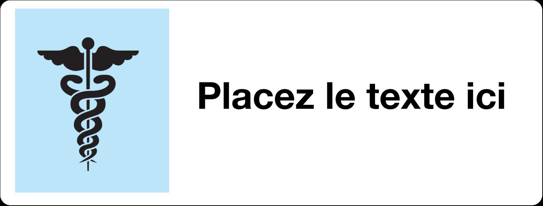 Bloc industriel bleu ciel Étiquettes Voyantes - gabarit prédéfini. <br/>Utilisez notre logiciel Avery Design & Print Online pour personnaliser facilement la conception.