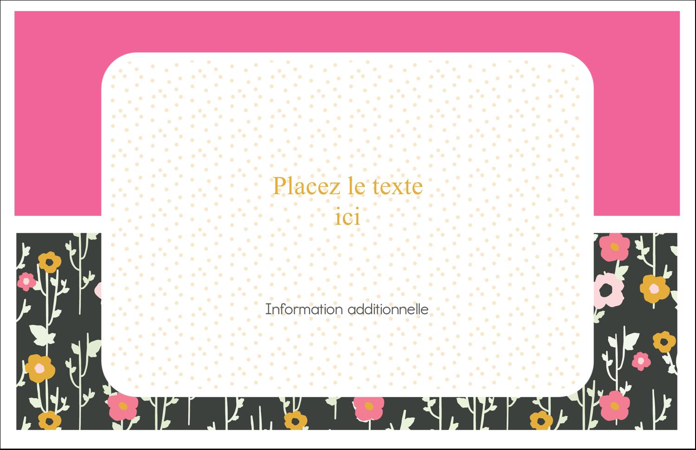 """8½"""" x 11"""" Cartes Et Articles D'Artisanat Imprimables - Fleurs modernes"""