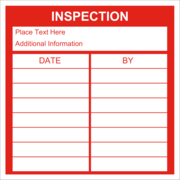 Inspection Record - Red